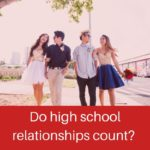 An on-going, online poll from Buzzfeed reveals how people feel about controversial ideas regarding relationships: Do High school relationships count?